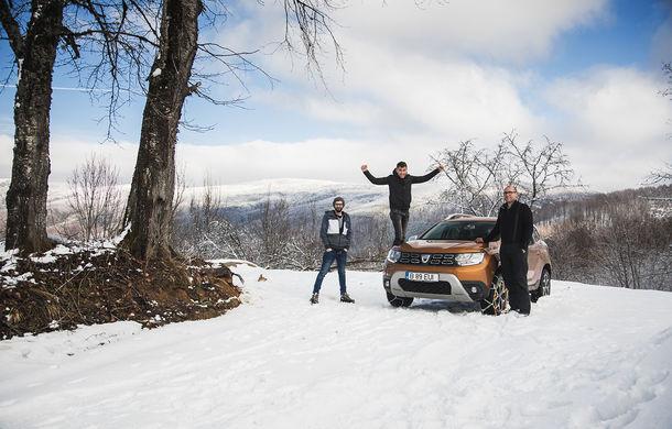 Cu noul Duster în creierii munților: măreția Apusenilor, un Duster cu lanțuri și metamorfoza corporatistului de la Carpathian Cottage - Poza 12