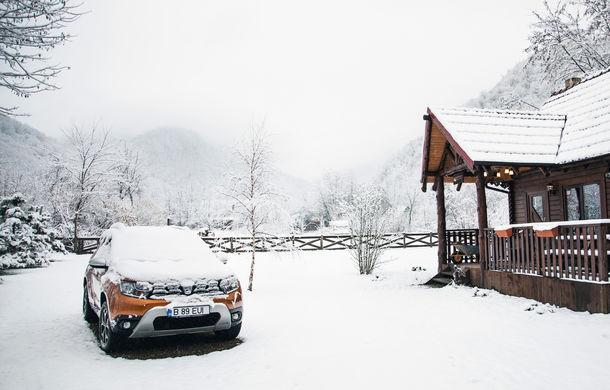 Cu noul Duster în creierii munților: măreția Apusenilor, un Duster cu lanțuri și metamorfoza corporatistului de la Carpathian Cottage - Poza 2
