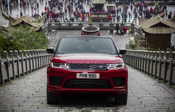 """Range Rover Sport PHEV a urcat 999 de trepte: hibridul de 400 de cai putere a ajuns la """"Poarta Raiului"""" - Poza 5"""