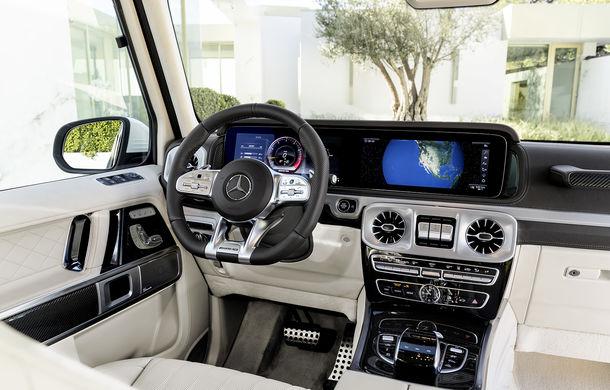 Mercedes-AMG G 63: motor V8 biturbo de 4.0 litri cu 585 CP și cutie automată cu 9 rapoarte - Poza 43