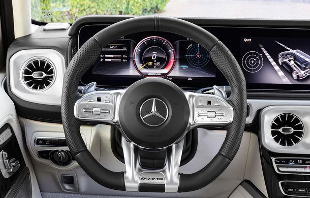 Mercedes-AMG G 63: motor V8 biturbo de 4.0 litri cu 585 CP și cutie automată cu 9 rapoarte - Poza 45