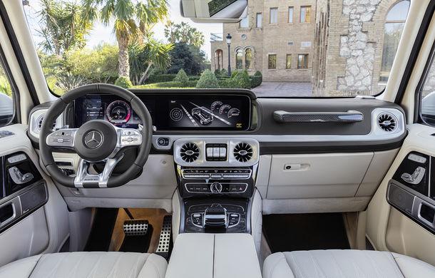 Mercedes-AMG G 63: motor V8 biturbo de 4.0 litri cu 585 CP și cutie automată cu 9 rapoarte - Poza 42