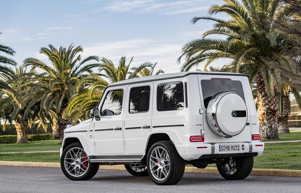 Mercedes-AMG G 63: motor V8 biturbo de 4.0 litri cu 585 CP și cutie automată cu 9 rapoarte - Poza 26