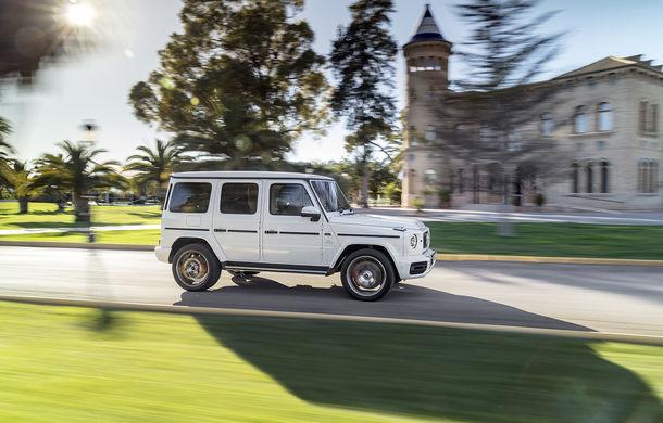 Mercedes-AMG G 63: motor V8 biturbo de 4.0 litri cu 585 CP și cutie automată cu 9 rapoarte - Poza 21