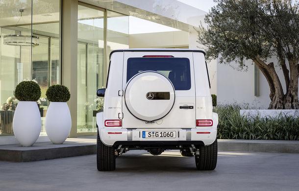 Mercedes-AMG G 63: motor V8 biturbo de 4.0 litri cu 585 CP și cutie automată cu 9 rapoarte - Poza 7