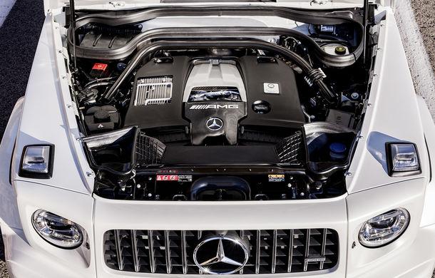 Mercedes-AMG G 63: motor V8 biturbo de 4.0 litri cu 585 CP și cutie automată cu 9 rapoarte - Poza 31
