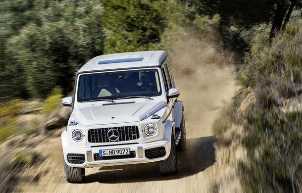 Mercedes-AMG G 63: motor V8 biturbo de 4.0 litri cu 585 CP și cutie automată cu 9 rapoarte - Poza 13