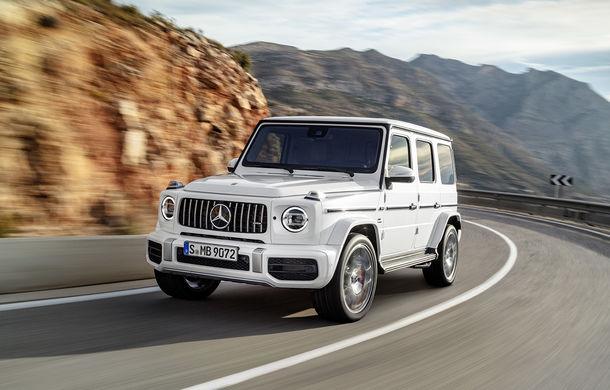 Mercedes-AMG G 63: motor V8 biturbo de 4.0 litri cu 585 CP și cutie automată cu 9 rapoarte - Poza 9