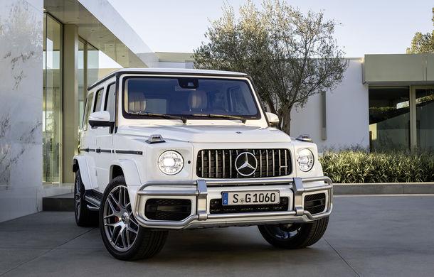 Mercedes-AMG G 63: motor V8 biturbo de 4.0 litri cu 585 CP și cutie automată cu 9 rapoarte - Poza 5