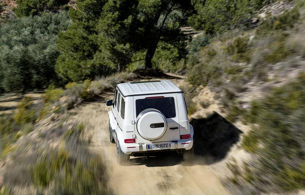 Mercedes-AMG G 63: motor V8 biturbo de 4.0 litri cu 585 CP și cutie automată cu 9 rapoarte - Poza 15