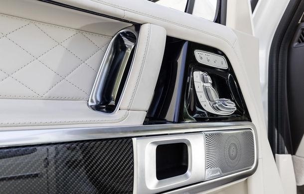 Mercedes-AMG G 63: motor V8 biturbo de 4.0 litri cu 585 CP și cutie automată cu 9 rapoarte - Poza 48