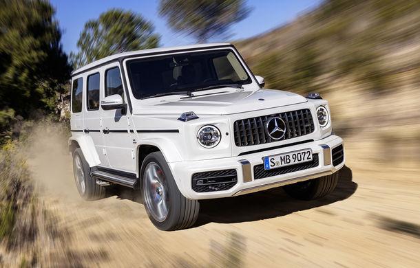 Mercedes-AMG G 63: motor V8 biturbo de 4.0 litri cu 585 CP și cutie automată cu 9 rapoarte - Poza 12