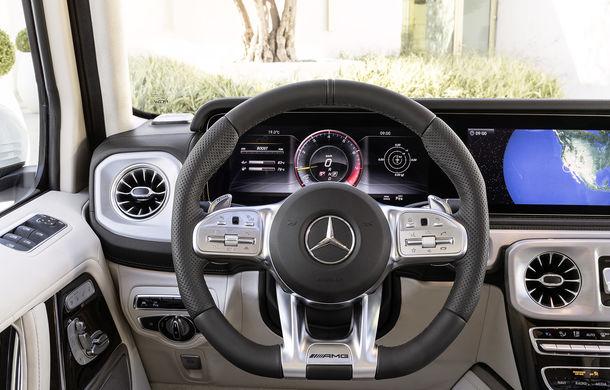 Mercedes-AMG G 63: motor V8 biturbo de 4.0 litri cu 585 CP și cutie automată cu 9 rapoarte - Poza 46