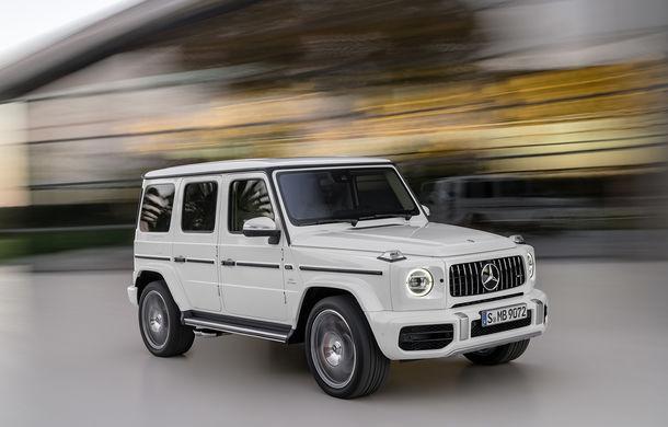 Mercedes-AMG G 63: motor V8 biturbo de 4.0 litri cu 585 CP și cutie automată cu 9 rapoarte - Poza 24