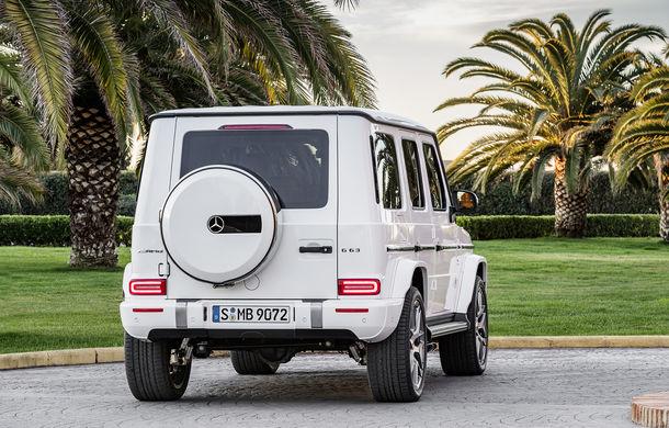 Mercedes-AMG G 63: motor V8 biturbo de 4.0 litri cu 585 CP și cutie automată cu 9 rapoarte - Poza 23