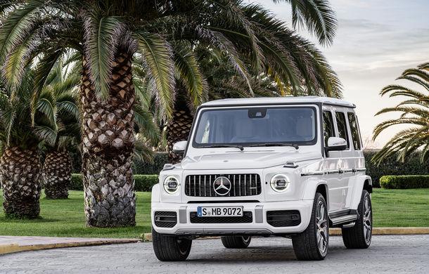 Mercedes-AMG G 63: motor V8 biturbo de 4.0 litri cu 585 CP și cutie automată cu 9 rapoarte - Poza 19