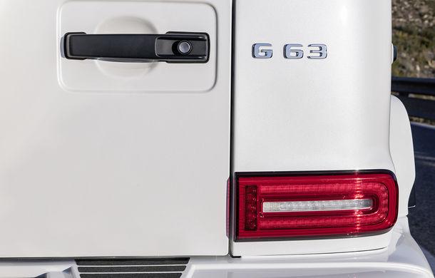 Mercedes-AMG G 63: motor V8 biturbo de 4.0 litri cu 585 CP și cutie automată cu 9 rapoarte - Poza 41