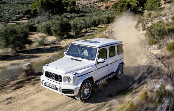 Mercedes-AMG G 63: motor V8 biturbo de 4.0 litri cu 585 CP și cutie automată cu 9 rapoarte - Poza 14
