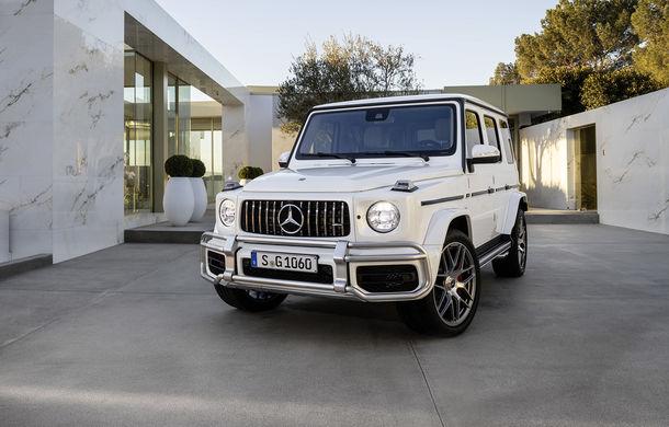 Mercedes-AMG G 63: motor V8 biturbo de 4.0 litri cu 585 CP și cutie automată cu 9 rapoarte - Poza 2
