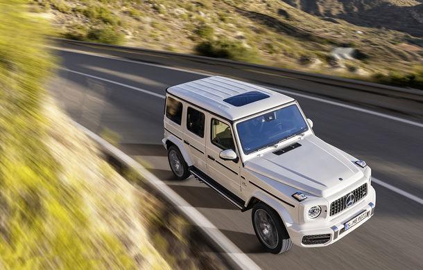 Mercedes-AMG G 63: motor V8 biturbo de 4.0 litri cu 585 CP și cutie automată cu 9 rapoarte - Poza 17