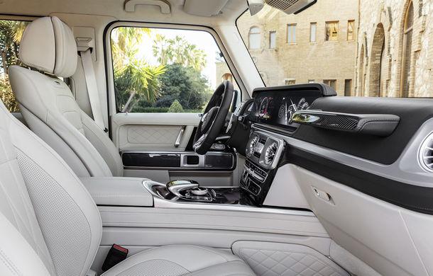 Mercedes-AMG G 63: motor V8 biturbo de 4.0 litri cu 585 CP și cutie automată cu 9 rapoarte - Poza 49