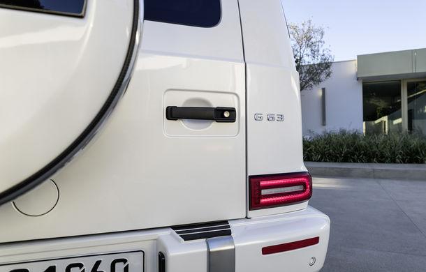 Mercedes-AMG G 63: motor V8 biturbo de 4.0 litri cu 585 CP și cutie automată cu 9 rapoarte - Poza 35