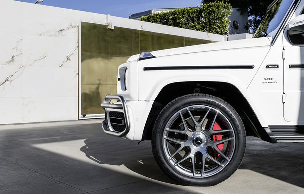 Mercedes-AMG G 63: motor V8 biturbo de 4.0 litri cu 585 CP și cutie automată cu 9 rapoarte - Poza 32