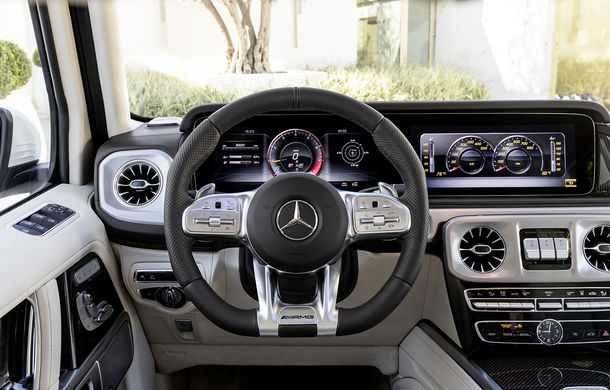 Mercedes-AMG G 63: motor V8 biturbo de 4.0 litri cu 585 CP și cutie automată cu 9 rapoarte - Poza 47