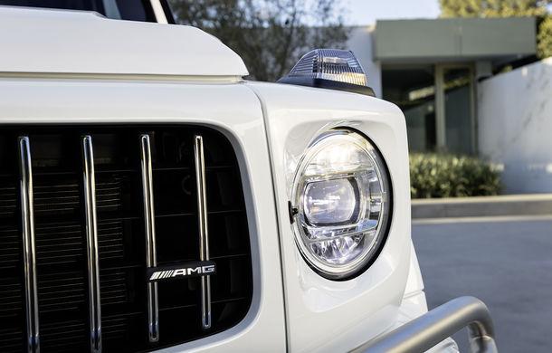 Mercedes-AMG G 63: motor V8 biturbo de 4.0 litri cu 585 CP și cutie automată cu 9 rapoarte - Poza 36