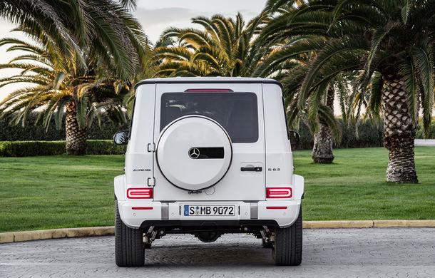 Mercedes-AMG G 63: motor V8 biturbo de 4.0 litri cu 585 CP și cutie automată cu 9 rapoarte - Poza 20