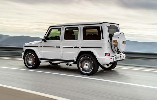 Mercedes-AMG G 63: motor V8 biturbo de 4.0 litri cu 585 CP și cutie automată cu 9 rapoarte - Poza 10