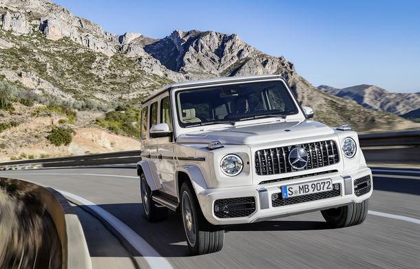 Mercedes-AMG G 63: motor V8 biturbo de 4.0 litri cu 585 CP și cutie automată cu 9 rapoarte - Poza 16