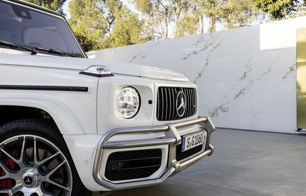 Mercedes-AMG G 63: motor V8 biturbo de 4.0 litri cu 585 CP și cutie automată cu 9 rapoarte - Poza 4