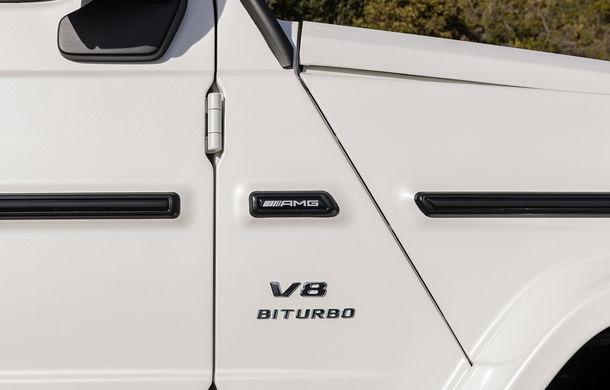Mercedes-AMG G 63: motor V8 biturbo de 4.0 litri cu 585 CP și cutie automată cu 9 rapoarte - Poza 37