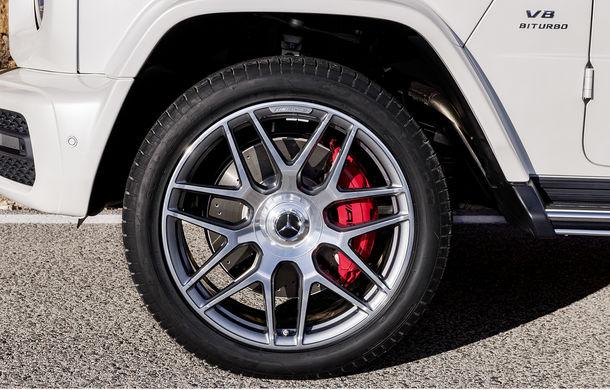 Mercedes-AMG G 63: motor V8 biturbo de 4.0 litri cu 585 CP și cutie automată cu 9 rapoarte - Poza 39