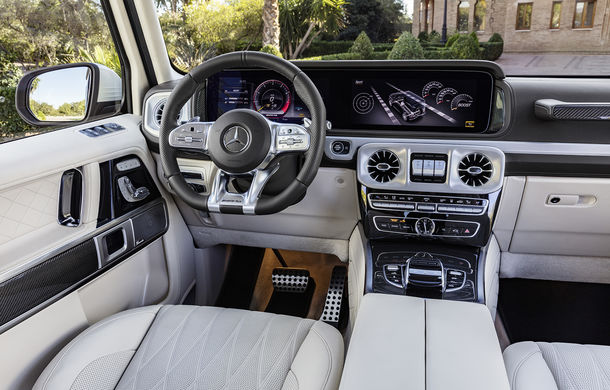 Mercedes-AMG G 63: motor V8 biturbo de 4.0 litri cu 585 CP și cutie automată cu 9 rapoarte - Poza 44