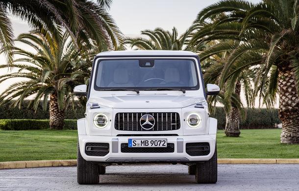 Mercedes-AMG G 63: motor V8 biturbo de 4.0 litri cu 585 CP și cutie automată cu 9 rapoarte - Poza 18