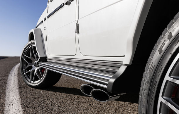 Mercedes-AMG G 63: motor V8 biturbo de 4.0 litri cu 585 CP și cutie automată cu 9 rapoarte - Poza 38