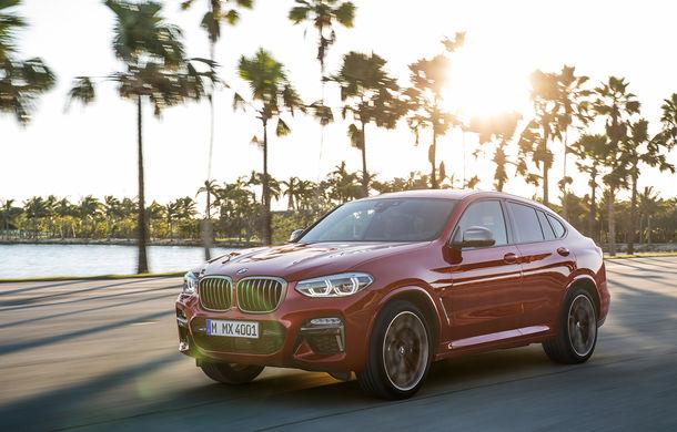 Noua generație BMW X4: design modificat, interior restilizat și versiune M40d cu 326 de cai putere - Poza 12