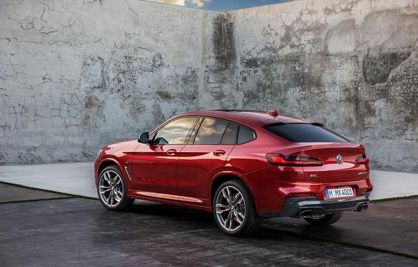 Noua generație BMW X4: design modificat, interior restilizat și versiune M40d cu 326 de cai putere - Poza 27