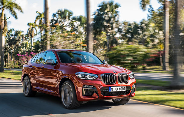 Noua generație BMW X4: design modificat, interior restilizat și versiune M40d cu 326 de cai putere - Poza 2