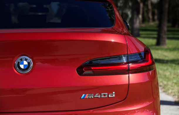 Noua generație BMW X4: design modificat, interior restilizat și versiune M40d cu 326 de cai putere - Poza 37