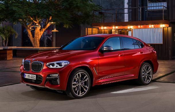 Noua generație BMW X4: design modificat, interior restilizat și versiune M40d cu 326 de cai putere - Poza 31