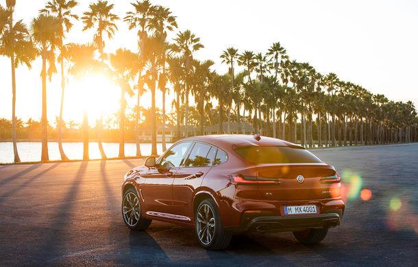 Noua generație BMW X4: design modificat, interior restilizat și versiune M40d cu 326 de cai putere - Poza 21