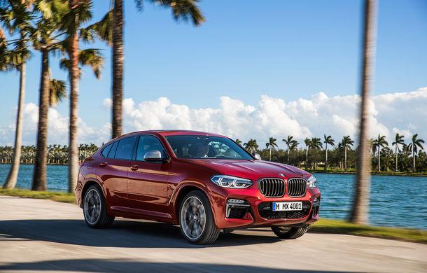 Noua generație BMW X4: design modificat, interior restilizat și versiune M40d cu 326 de cai putere - Poza 9