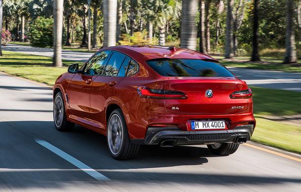 Noua generație BMW X4: design modificat, interior restilizat și versiune M40d cu 326 de cai putere - Poza 6