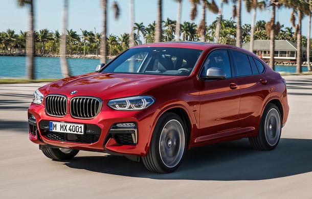 Noua generație BMW X4: design modificat, interior restilizat și versiune M40d cu 326 de cai putere - Poza 1