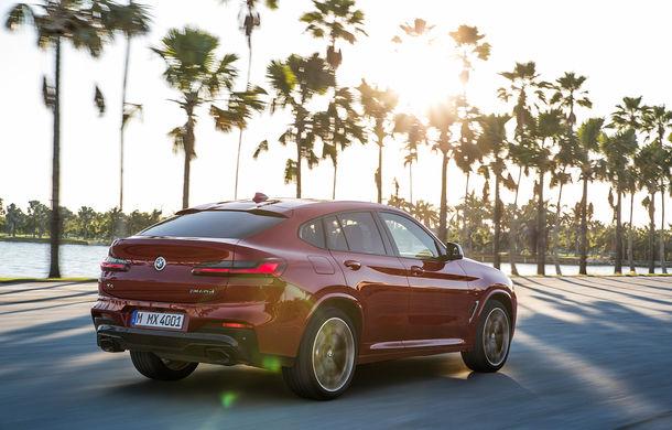 Noua generație BMW X4: design modificat, interior restilizat și versiune M40d cu 326 de cai putere - Poza 13