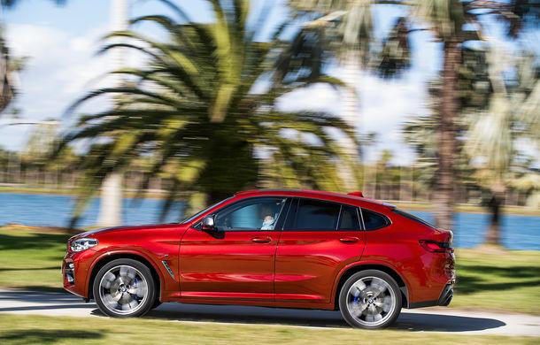 Noua generație BMW X4: design modificat, interior restilizat și versiune M40d cu 326 de cai putere - Poza 16