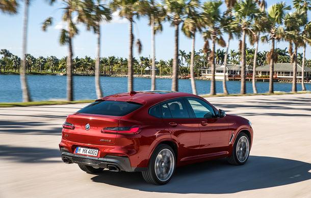 Noua generație BMW X4: design modificat, interior restilizat și versiune M40d cu 326 de cai putere - Poza 11